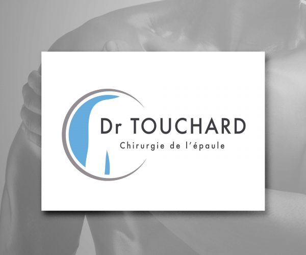 Agence de communication DISTINGUEZ-VOUS.COM- Création de logo et charte graphique pour le Dr Touchard à Périgueux