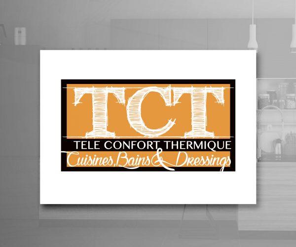 Agence de communication DISTINGUEZ-VOUS.COM- Création du logo et charte graphique de TCT à Boulazac en Dordogne