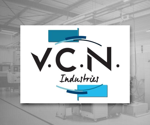 Agence de communication DISTINGUEZ-VOUS.COM- Création du logo et de la charte graphique de VCN Industries à Sigoulès en Dordogne